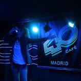 Emma Tejeda ('El número uno') en el concierto de la sala 40 Café de Madrid