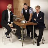 Joe Bastianich, Graham Elliot y Gordon Ramsay