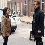 Abbie Mills y Ichabod Crane en 'Sleepy Hollow'