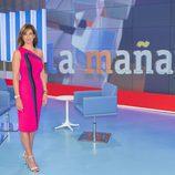 Mariló Montero en el nuevo plató de 'La mañana de La 1'