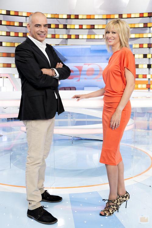 Nacho Abad y Susanna Griso