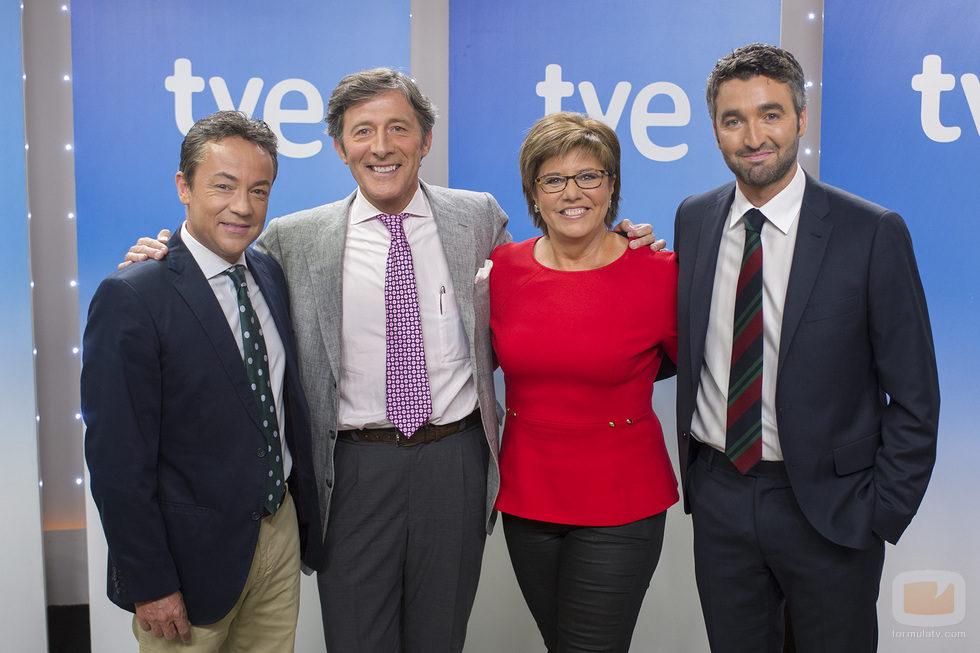 El equipo de deportes de los informativos de TVE