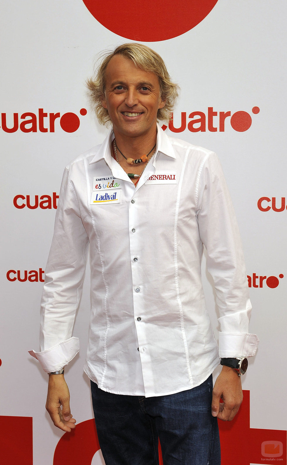 Jesús Calleja, conductor de 'Desafío extremo'