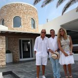 Matthias Kühn, Esteban Mercer y Norma Duval en 'House & Style'
