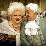 Eugenia y Mauricio en 'Aída'