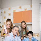 La familia protagonista de 'Vive cantando'