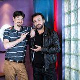 Gorka Otxoa y José Luis García Pérez en 'Vive cantando'