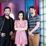 José Luis García Pérez, Roko y Gorka Otxoa en 'Vive cantando'