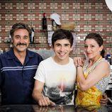 Javier Cifrián, Victor Sevilla y Mariola Fuentes en 'Vive cantando'