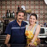 Javier Cifrián y Mariola Fuentes son marido y mujer en 'Vive cantando'