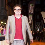 Pablo Carbonell en la alfombra naranja del FesTVal de Vitoria 2013