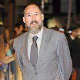 Daniel Albadalejo en la alfombra naranja del FesTVal de Vitoria