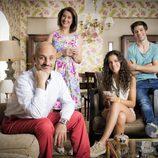 Esperanza Elipe, Alberto Jiménez, Sandra Blázquez e Ignacio Montes en 'Vive cantando'