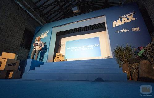 Fernando Jerez en la presentación de Discovery Max