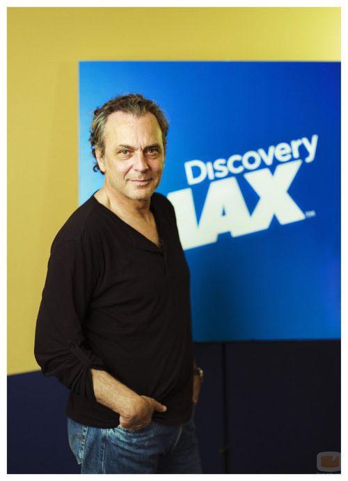 José Coronado en la presentación de Discovery Max del FesTVal 2013