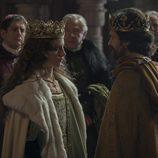 Michelle Jenner y Rodolfo Sancho en la segunda temporada de 'Isabel'