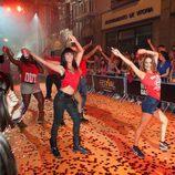 Las estrellas de 'Dreamland' bailan en el FesTVal de Vitoria