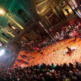 Alfombra naranja de 'Dreamland' en el FesTVal de Vitoria 2013