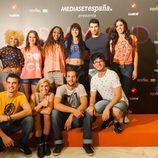 Reparto de 'Dreamland' en el FesTVal de Vitoria 2013