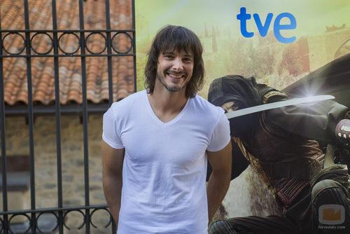 David Janer en la presentación de los nuevos capítulos de 'Águila Roja' en el FesTVal de Vitoria