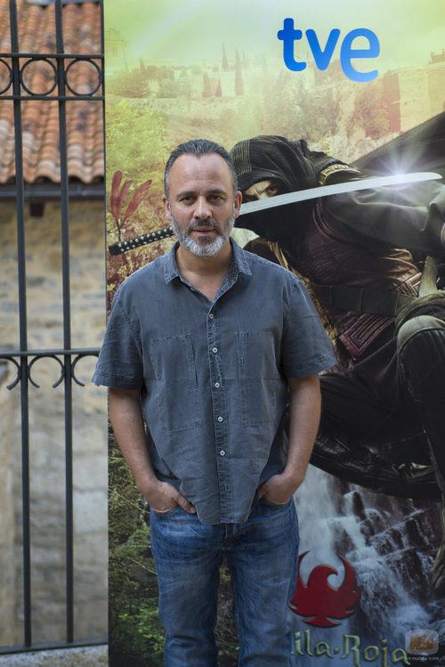Javier Gutiérrez presenta 'Águila Roja' en el FesTVal de Vitoria