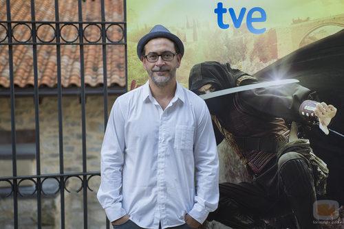 Santiago Molero presenta 'Águila Roja' en el FesTVal de Vitoria 2013
