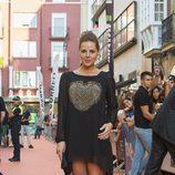 Miryam Gallego en la alfombra naranja del FesTVal 2013