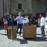 El mago Yunke hace magia en el FesTVal de Vitoria 2013