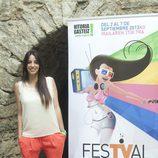 Almudena Cid, jurado de 'Por arte de magia', en el FesTVal de Vitoria