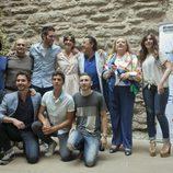 El elenco de 'Aída' presenta la nueva temporada en el FesTVal de Vitoria 2013
