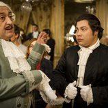 Mauricio y Machupichu en el episodio 200 de 'Aída'