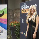 Edurne, concursante de 'Tu cara me suena', en el FesTVal de Vitoria