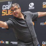 Florentino Fernández, concursante de 'Tu cara me suena', en el FesTVal de Vitoria
