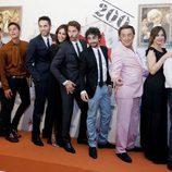 El elenco de 'Aída' en el FesTVal 2013