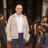 Pepe Viyuela, Chema en 'Aída', en la alfombra naranja