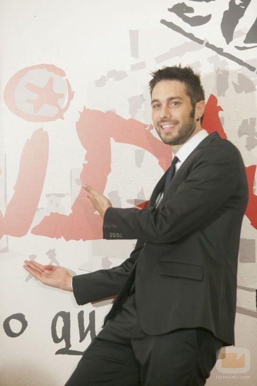 Dani Martínez en el FesTVal de Vitoria