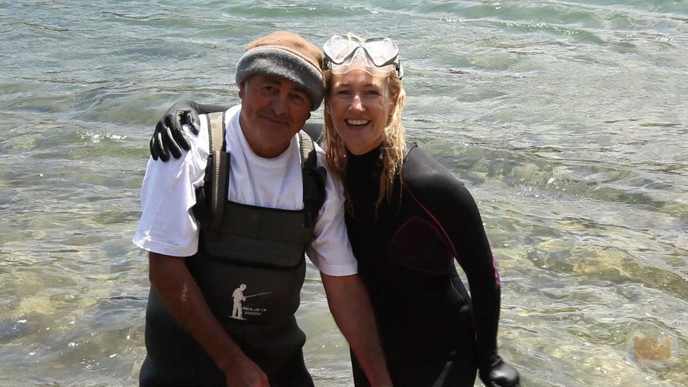 Ana Duato en Menorca durante el primer episodio de 'Un país para comérselo'