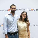 Rubén Cortada y Adriana Ugarte en el FesTVal de Vitoria