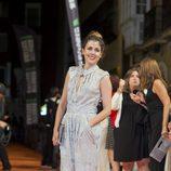 Adriana Ugarte en la premiere de 'El tiempo entre costuras' del FesTVal 2013