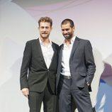 Peter Vives y Rubén Cortada en el FesTVal de Vitoria 2013