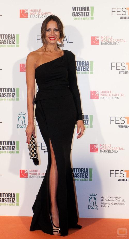 Eva González en la gala de clausura del FesTVal 2013
