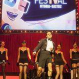 Luis Larrodera, presentador de la gala de clausura del FesTVal 2013