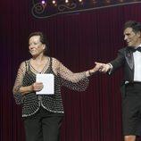 Elena Santonja en la gala de clausura del FesTVal 2013
