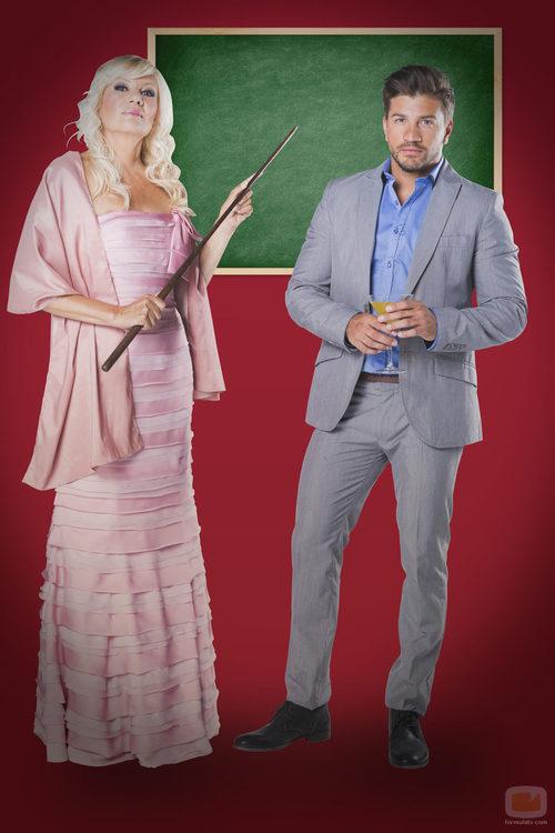 Leo y Silvia, participantes de '¿Quién quiere casarse con mi hijo'?