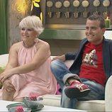 Víctor y Merche en el primer programa de '¿Quién quiere casarse con mi hijo?'
