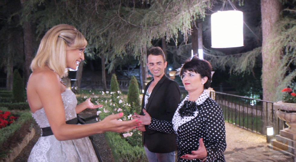 Fran y M� Carmen con Luj�n Arg�elles en '�Qui�n quiere casarse con ...