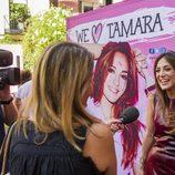 Tamara Falcó con la prensa en 'We Love Tamara'