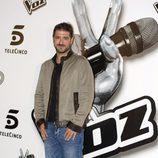 Antonio Orozco en la presentación de 'La voz 2'