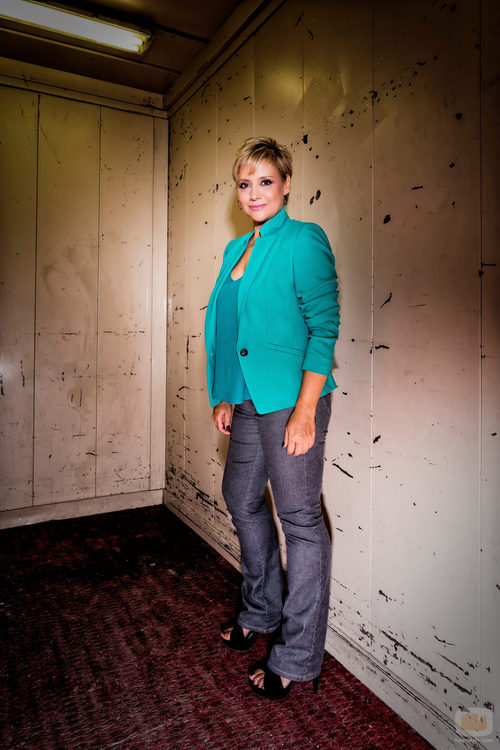 Gloria Serra en una imagen promocional de la quinta temporada de 'Equipo de investigación'