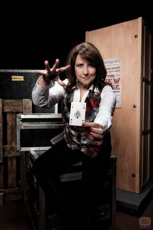 Soledad Mallol, concursante de 'Por arte de magia'